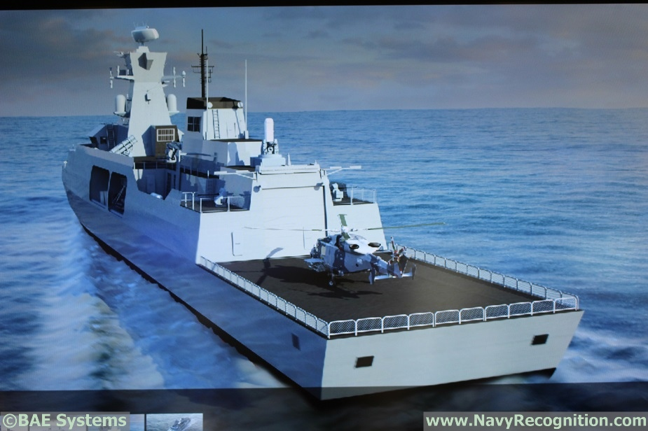 DIMDEX 2018 BAE Systems Showcasing Type 31e Frigate Design for the 1st Time 2