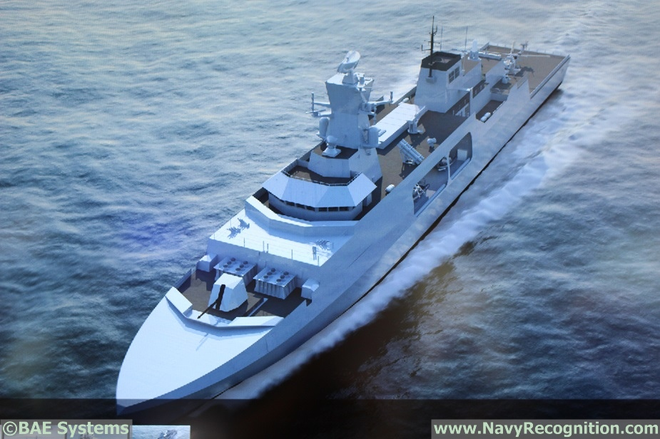 DIMDEX 2018 BAE Systems Showcasing Type 31e Frigate Design for the 1st Time 4
