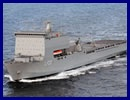 The Royal Australian Navy now has enhanced amphibious warfare capability with the commissioning in Fremantle on December 13 2011 of Australia's newest warship, the Bay Class Landing Ship HMAS Choules.