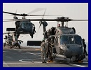 From 1 to 3 October 2011, a detachment of US Air Force's Personal Recovery (PR) with HH60G Pave Hawk was operating from the French Navy's Tonnerre BPC (Mistral Class LHD) offshore Sirte, Libya.