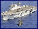 HMS Ocean, the Royal Navy's largest warship which played a starring role during the London 2012 Olympics, will receive a £65M upgrade, the MoD announced today.