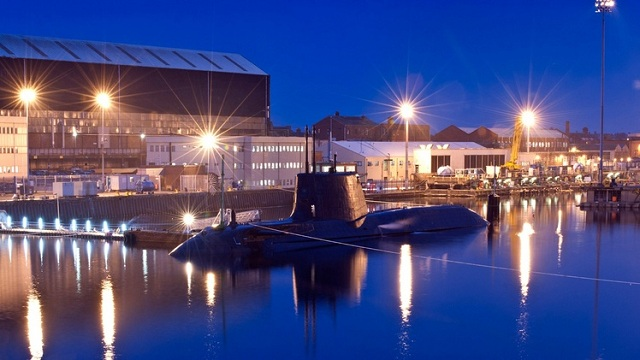 The UK Ministry of Defence has awarded us a contract worth £1.2bn for Audacious, the fourth submarine in the Astute class. The full contract covers the design, build, test and commissioning programme. First steel was cut in 2007 and Audacious is at an advanced stage of construction at BAE Systems' site in Barrow-in-Furness, Cumbria.