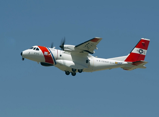 Airbus Defense and Space, Inc. has delivered the 17th HC-144A Ocean Sentry maritime patrol aircraft to the U.S. Coast Guard. The Ocean Sentry is based on the Airbus CN235 tactical airlifter with more than 235 currently in operation by 29 countries. This is the last HC-144A's planned for delivery this year.