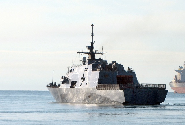 Uss freedom lcs 1 littoral combat ship makes debut in singapore - Uss freedom lcs 1 photos ...