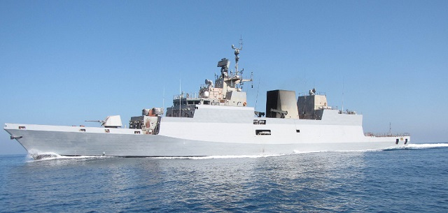 The second indigenously built stealth Anti-Submarine Warfare (ASW) Corvette 'INS Kadmatt' built by M/s Garden Reach Shipyard (GRSE), Kolkata was formally handed over to the Indian Navy on November 26. The new vessel was delivered by Rear Admiral (Retd) AK Verma, VSM, chairman and managing director of GRSE.