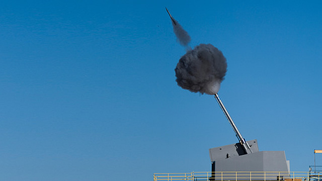 BAE Systems and Leonardo to Adapt Vulcano Guided Round for DDG 1000's Advanced Gun System