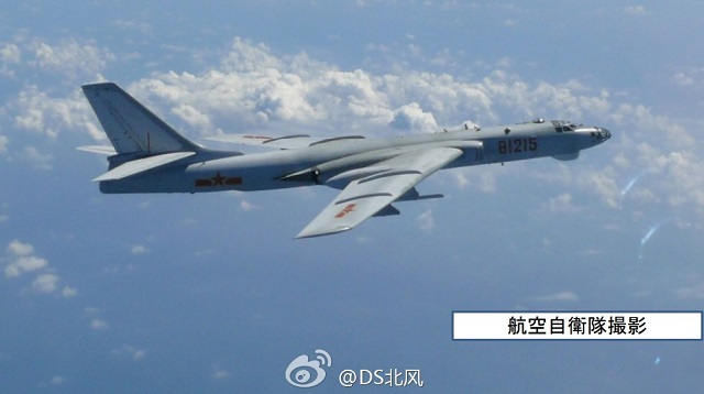 Pictures of YJ-12, one of china's latest anti-ship missile, fitted on a Chinese Navy (PLAN) Xian H-6G bomber have recently emerged on the Chinese internet meaning this new generation missile may have entered operational service.