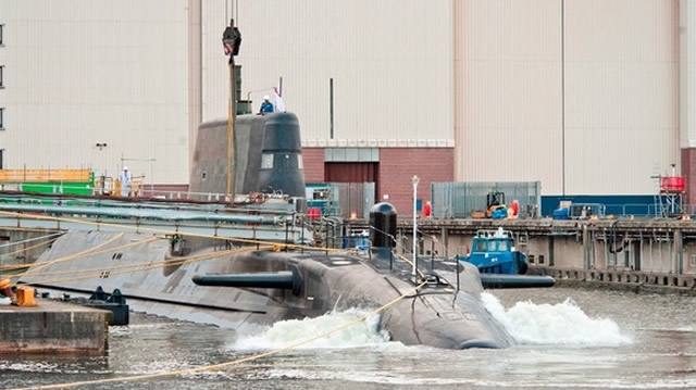 BAE Systems has launched Artful, the latest state-of-the-art submarine into the dock at its site in Barrow-in-Furness, Cumbria. The 97m long, 7,400 tonne nuclear-powered attack submarine - officially named at a ceremony in September last year - began edging out of BAE Systems' giant construction hall on Friday 16 May and was carefully lowered into the water on Saturday 17 May.