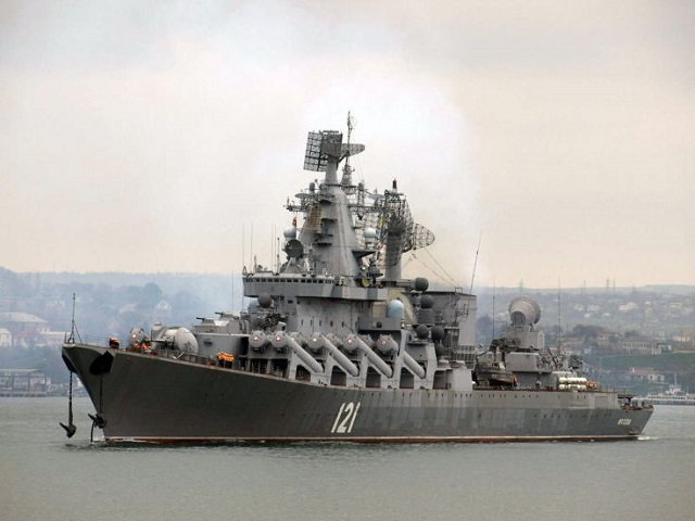 "Moskva, lead ship of the Project 1164 Atlant class of guided missile cruisers in the Russian Navy and flagship of the Black Sea fleet, will be sent to the Ship Repair Center ""Asterisk"" (located in Severodvinsk) at the end of 2015 for modernization according to ""Interfax "" citing the headquarters of the Russian Black Sea Fleet."