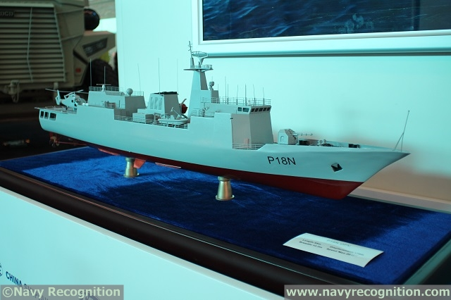 According to local media, the first of two P-18N offshore patrol vessels (OPV) ordered by the Nigerian Navy was delivered today at the China Shipbuilding & Offshore International Company (CSOC)'s Wuchang Shipyard in Wuhan, China. CSOC is part of the part of the State Shipbuilding Corporation, China Shipbuilding Industry Corporation (CSIC). This OPV, reportedly nammed The Century, is the first patrol ship China has exported to West Africa.