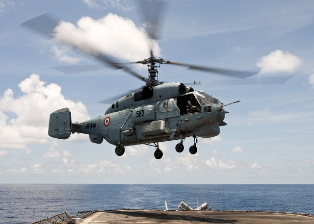 Indian Navy To Upgrade Its Kamov Ka 28 Anti Submarine