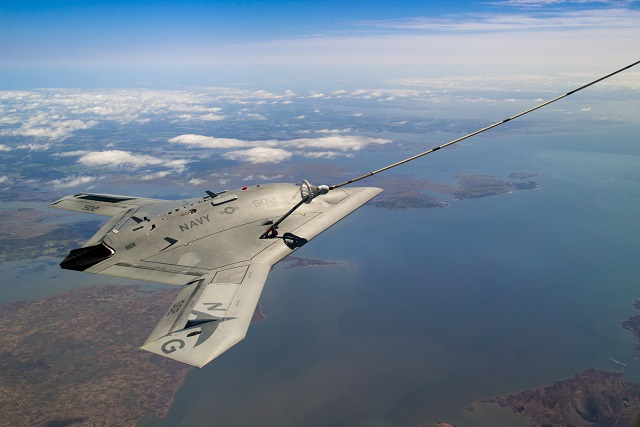 UCLASS was succeeding to the Unmanned Combat Air System-Demonstration (UCAS-D) program which produced the Northrop Grumman X-47B demonstrator aircraft. The X-47B launches and recoveries from US Navy aicraft carriers at sea in 2013 and 2014. Northrop Grumman demonstrated last year that X-47B could be refuelled in the air.