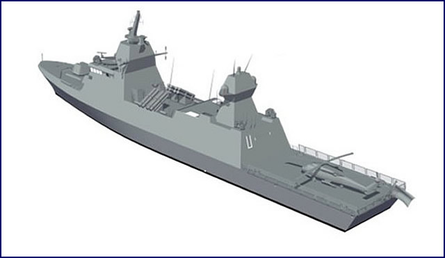 Saar 6 class corvettes will be heavily armed: They are set to be fitted with up to 40x (most likely 32x) VLS cells for surface to air missile system Barak 8 by Israel Aerospace Industries (IAI) and C-DOME naval point defense system by Rafael, 16x anti-ship missiles and the MF-STAR multifunction AESA radar by IAI.