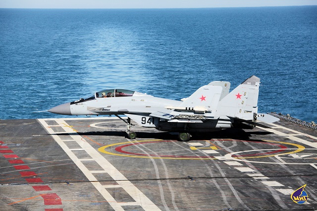 MiG Corporation expecting new order for MiG-29K/KUB Naval
