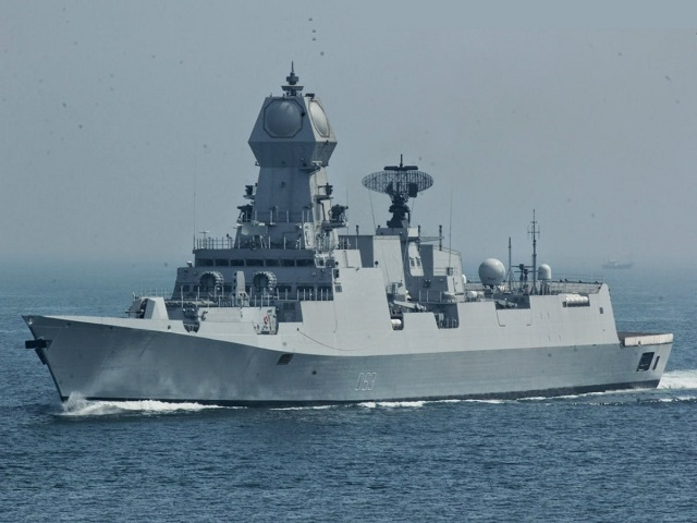 Indian Navy Comments LRSAM Successful Flight-Test from