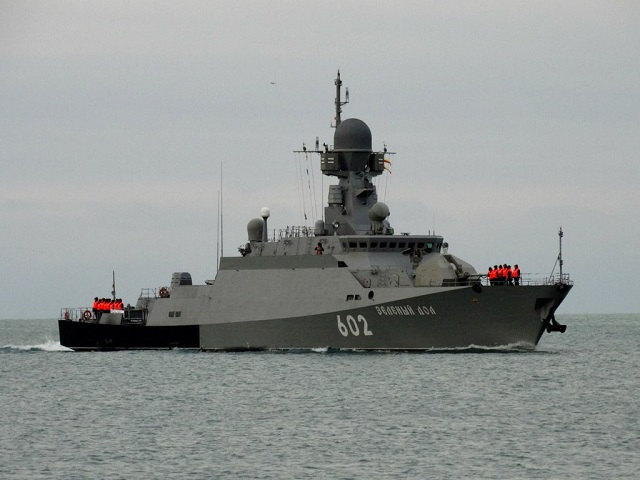 The Russian Black Sea Fleet's Project 21631 small missile ship Zelyony Dol and the ocean-going mine-sweeper Kovrovets have left Sevastopol in Crimea to accomplish scheduled tasks in the Mediterranean Sea, the fleet's press office said on Monday.