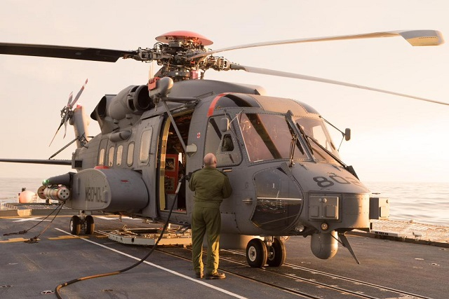 Canada accepts six CH-148 Cyclone maritime helicopters