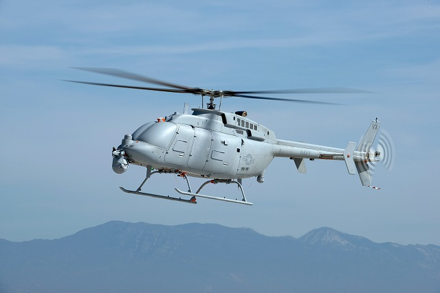 The U.S. Navy's new, larger MQ-8C Fire Scout unmanned helicopter completed its developmental flight test. The unmanned helicopter has completed 327 flights and logged over 450 hours. The system has met all of its performance objectives that allow it to begin operational test later this year.