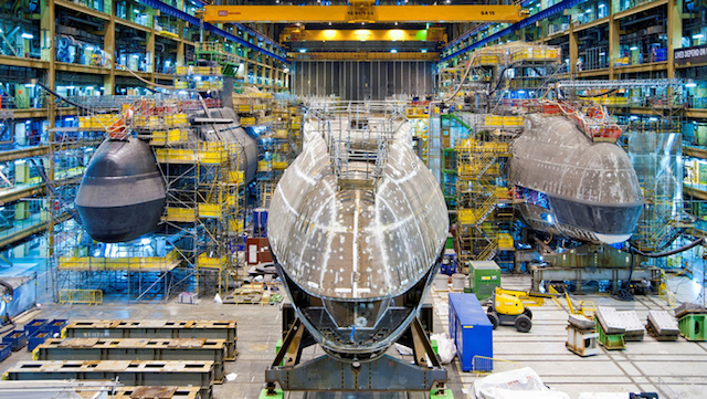 The UK Ministry of Defence has awarded BAE Systems a contract for the delivery of the fifth Astute-class submarine. With the construction having started in 2010, this contract covers the design and remaining build, test and commissioning activities of the HMS Anson. The submarine construction is on schedule for sea trials in 2020.