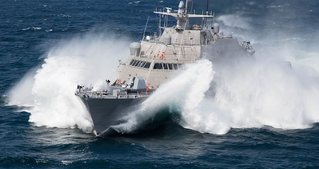 The U.S. Navy commissioned the nation's fifth Littoral Combat Ship (LCS) – USS Milwaukee (LCS 5) – in Milwaukee today, officially placing the ship designed and constructed by a Lockheed Martin-led industry team into active service.
