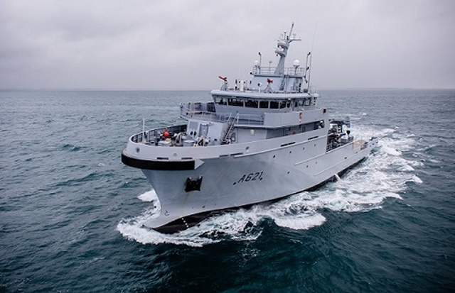 The Bougainville multi-mission vessel was delivered to the French Navy (Marine Nationale) on September 22 2016. It is the second B2M (for bâtiment multi-missions) vessel intended for the overseas missions of sovereignty. Bougainville will soon join its home port of Tahiti in the Pacific. First ship of the class D'Entrecasteaux recently joined its home port of Noumea in New Caledonia.