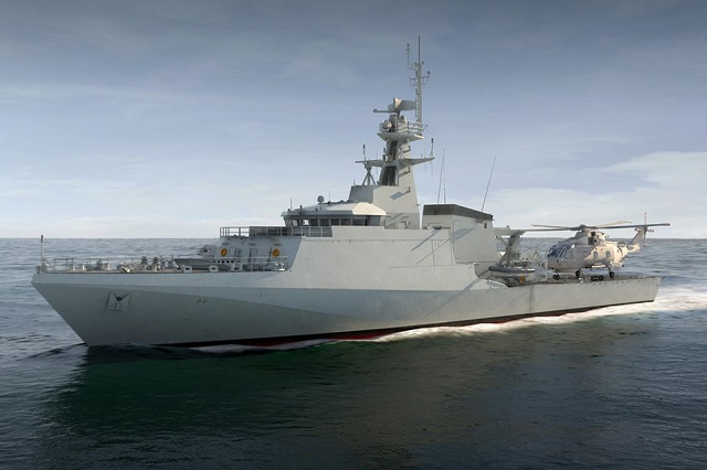 BAE Systems OPV Royal Navy 1