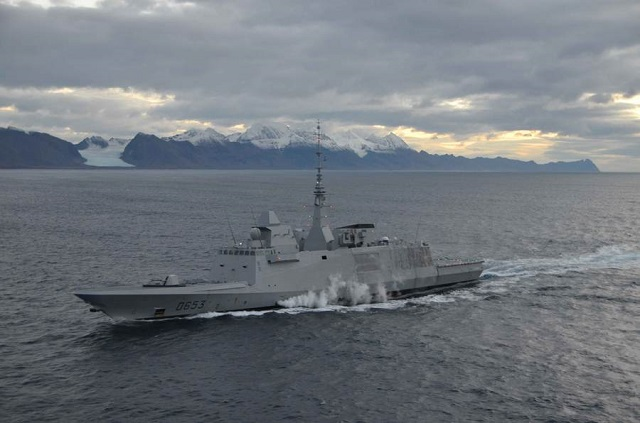 FREMM Languedoc long cruise Arctic French Navy 1