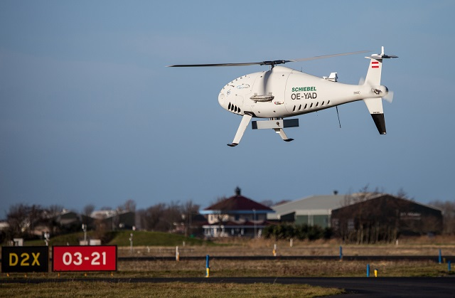 Schiebel and the Netherlands Aerospace Centre (NLR), the Netherlands Coastguard and the Royal Netherlands Air Force conducted a series of successful flights with a newly developed airborne Detect and Avoid System at the airport of Den Helder in December 2015. The AIRICA (ATM Innovative RPAS Integration for Coastguard Applications) project marks a major step forward in the process of safe integration of RPAS (Remotely Piloted Aircraft Systems) into all classes of airspace.