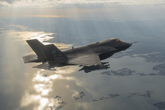 F-35 Lightning II aircraft operating at 12 different locations worldwide surpassed the 50,000 flight hour mark this month. The first flight hour was achieved by an F-35B aircraft, BF-01, June 1, 2008. The 25,000 flight hour milestone occurred in December 2014, six years and six months later. As a sign of program growth and maturity, the second 25,000 flight hours were reached only one year and two months later.