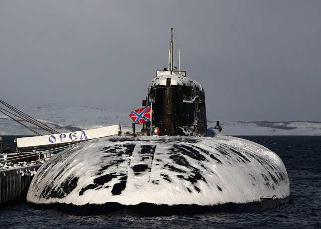 Russia S Project 949a Submarine Smolensk Launches Granit Cruise