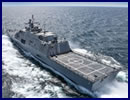The future USS Detroit (LCS 7) successfully concluded its acceptance trial July 15 after completing a series of graded in-port and underway demonstrations for the U.S. Navy's Board of Inspection and Survey (INSURV).