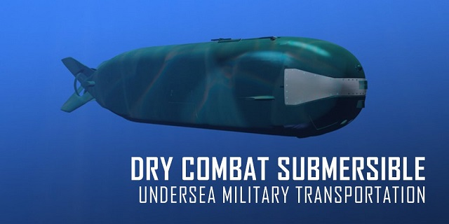 Lockheed Martin, in partnership with Submergence Group LLC, will manufacture Dry Combat Submersibles (DCS) that will transport personnel to their mission sites while submerged. These vehicles have longer endurance and operate at greater depths than swimmer delivery vehicles (SDV) in use.