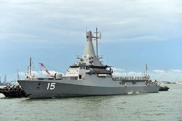 ST Marine celebrates the launch of the third Littoral
