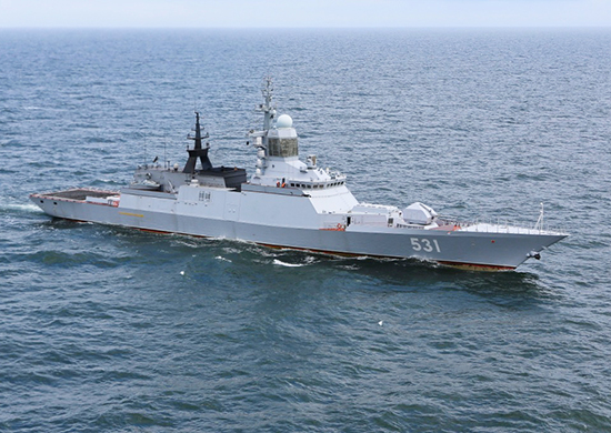 Project 20380 corvette russian navy