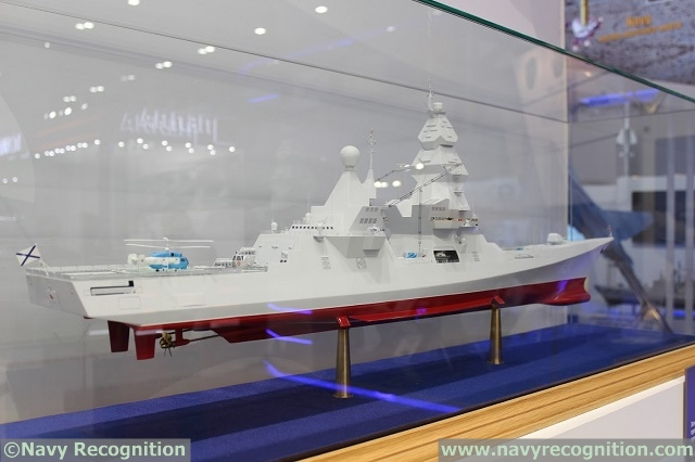 Russian MoD Approves Project 23560 Leader-class Nuclear-Powered Destroyer Preliminary Design