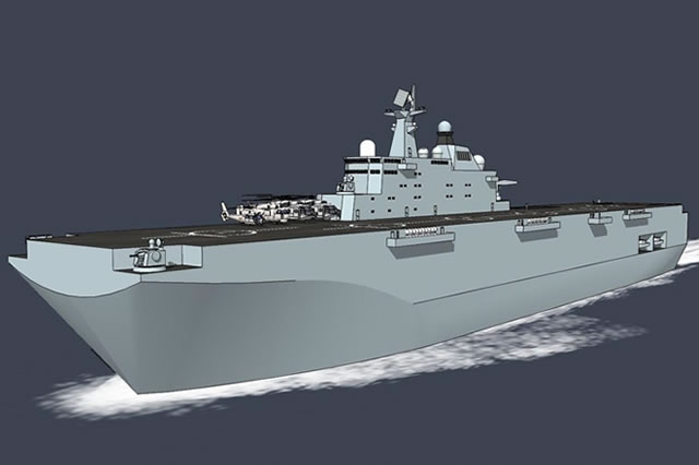 Type 075 LHD PLAN China 01