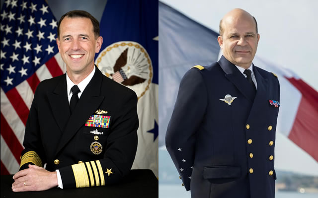 Interview with US Navy CNO Admiral Richardson and Chief of