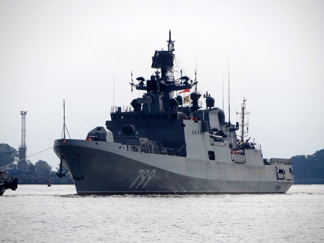 Sea Trials of Russia's Third Project 11356 Frigate Admiral Makarov Completed