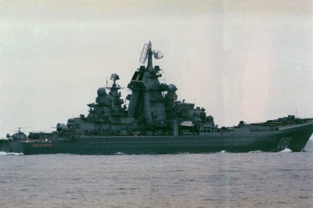 Russian Navy Kirov-class cruiser Admiral Nakhimov's Hull to be Rebuilt during Upgrade and Overhaul