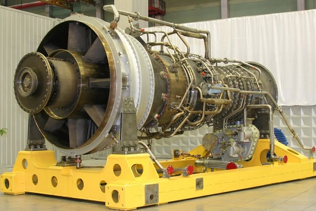 M90FR gas turbine engine Project 22350 Saturn