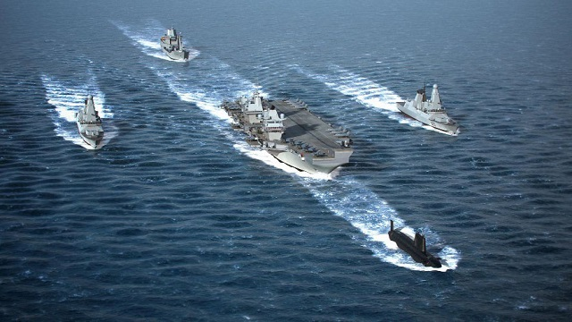 future UK Carrier Strike Group