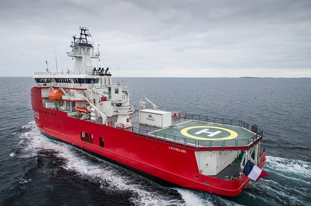 Astrolabe Piriou PLV Polar Logistics Support French Navy 2