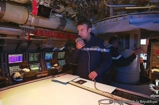 Macron Le Terrible SSBN submarine French Navy 2