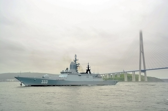 Project 20380 Corvette Sovershenny Russia Pacific Fleet