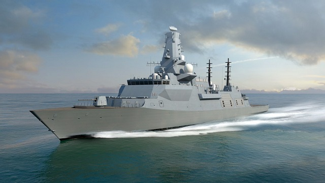Type 26 Global Combat Ship Frigate BAE Systems Royal Navy 1