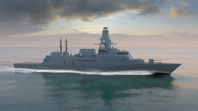 Type 26 Global Combat Ship Frigate BAE Systems Royal Navy 2