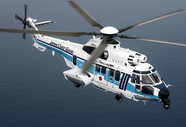 Japan Coast Guard orders three additional H225 helicopters