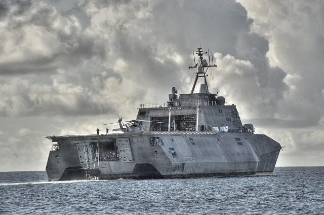 LCS Independence Austal US navy