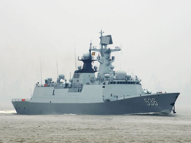 Type 054A Frigate Xuchang PLAN China 1