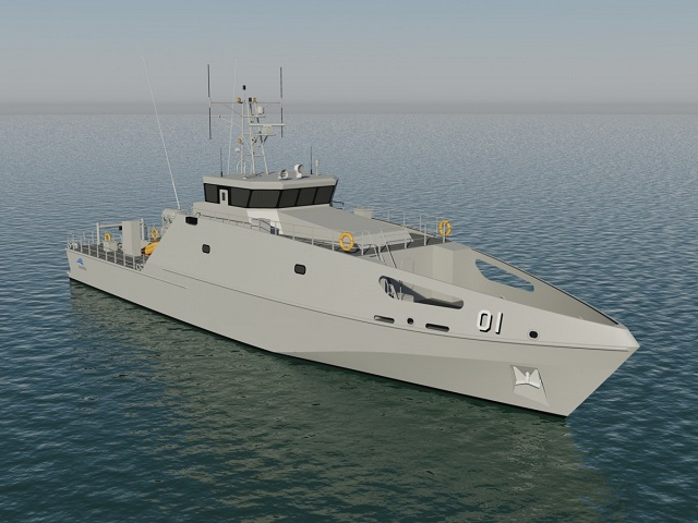 Austal Lays Keel of First Pacific Patrol Boat PPB-R For Royal Australian Navy